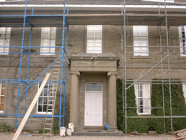 Kilcairney House: before works.