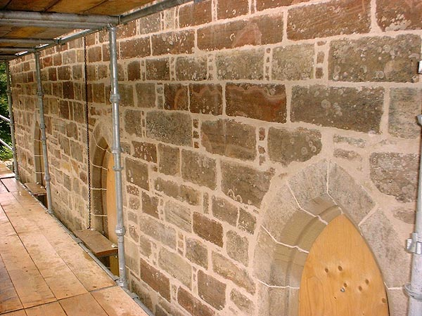 Masonry repointing and stone replacement / indenting and/or repair.