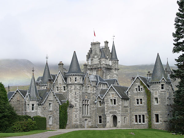 Ardverikie House - Loch Laggan, Scottish Highlands