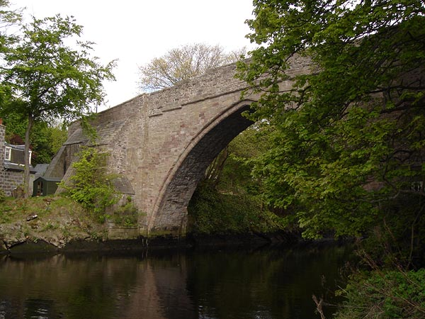 Brig O Balgownie: before works.