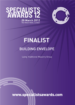 Specialists Awards 2012: Building Envelope