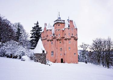 'Craigievar Castle' - A major restoration project completed in 2010. Photo - Jim Henderson / Crooktree.com.
