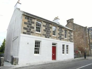 Main Street Cambusbarron - winner of Stirling Civic Trust's Architectural Competition