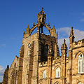 Kings College Crown - Aberdeen - Lime Mortar Surface Repairs to Stone