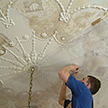 Leith Hall - Huntly - Lime Plastering and Lime Plaster Conservation