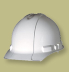 Photo of a Stonemasons Safety Helmet