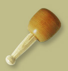 Photo of a Stonemasons Wooden Mallet