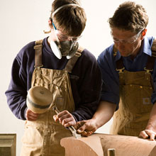 Apprentice Stonemason Stone Carving