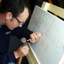 Letter Cutting and Letter Carving